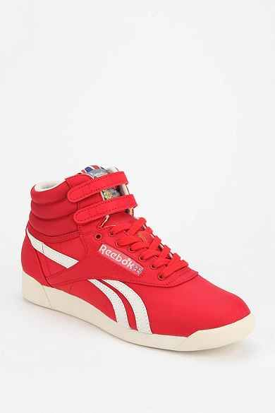 cd562982e9a6d Reebok Freestyle Vintage High-Top Sneaker