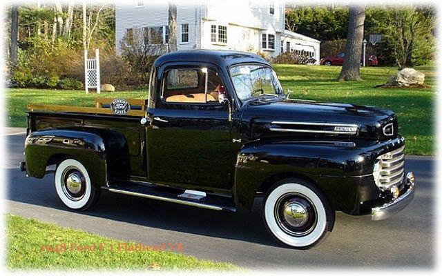 1948 Ford F1 Flathead V8 Pickup Old Ford Trucks Truck Accessories Ford 1948 Ford Truck