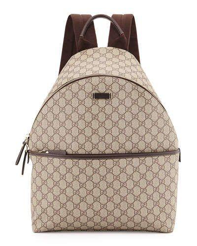 534141806fc N2YJ2 Gucci GG Supreme Canvas Backpack