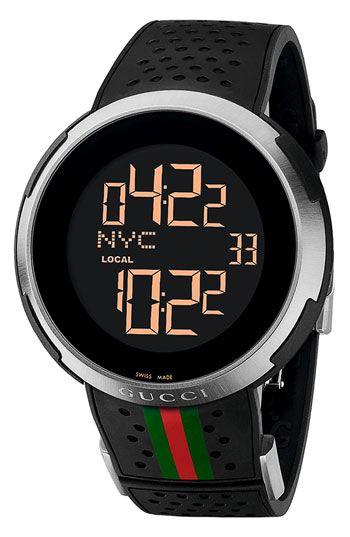 c65caee0a Gucci 'I Gucci' Rubber Strap Watch $1550 | KEYF | Pinterest