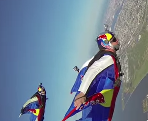 Red Rocket Hobbies: Wingsuit Over New York With POV