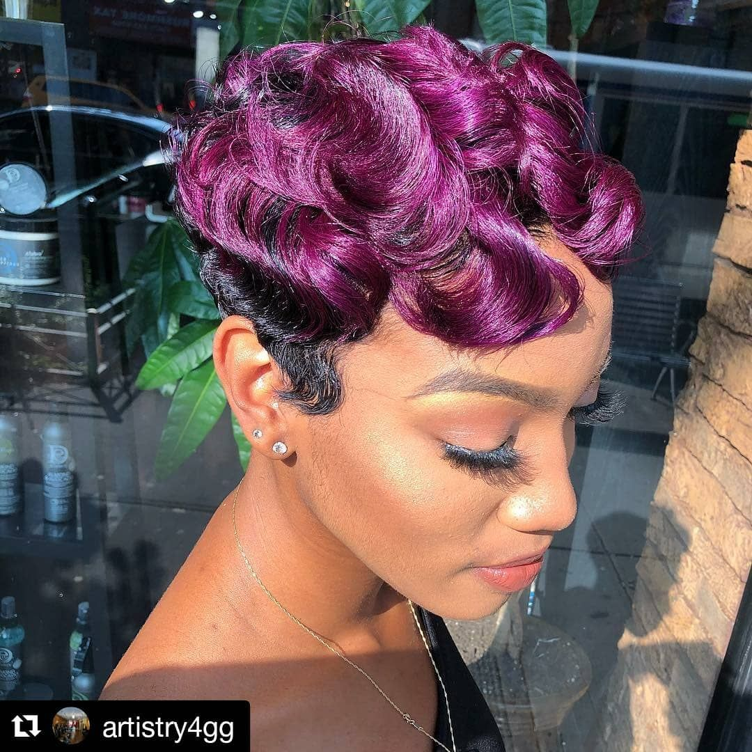 Style From Artistry4gg Of Gillian Garcia Artistry Of Brooklyn New York Repost Artistry4gg What Should We Call T Short Hair Styles Pixie Hair Salon Hair