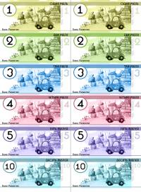 деньги мелочь для игры в магазин в детском саду распечатать