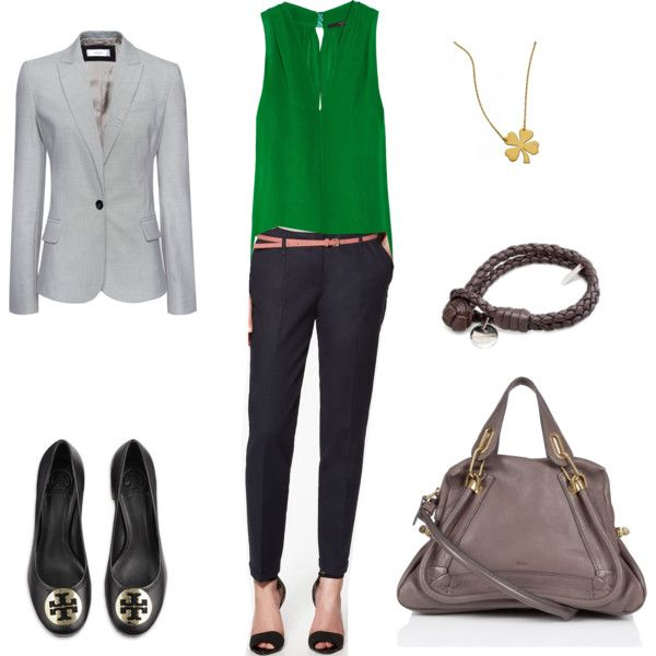 Green top again, love it~ created by chloe-ho on Polyvore