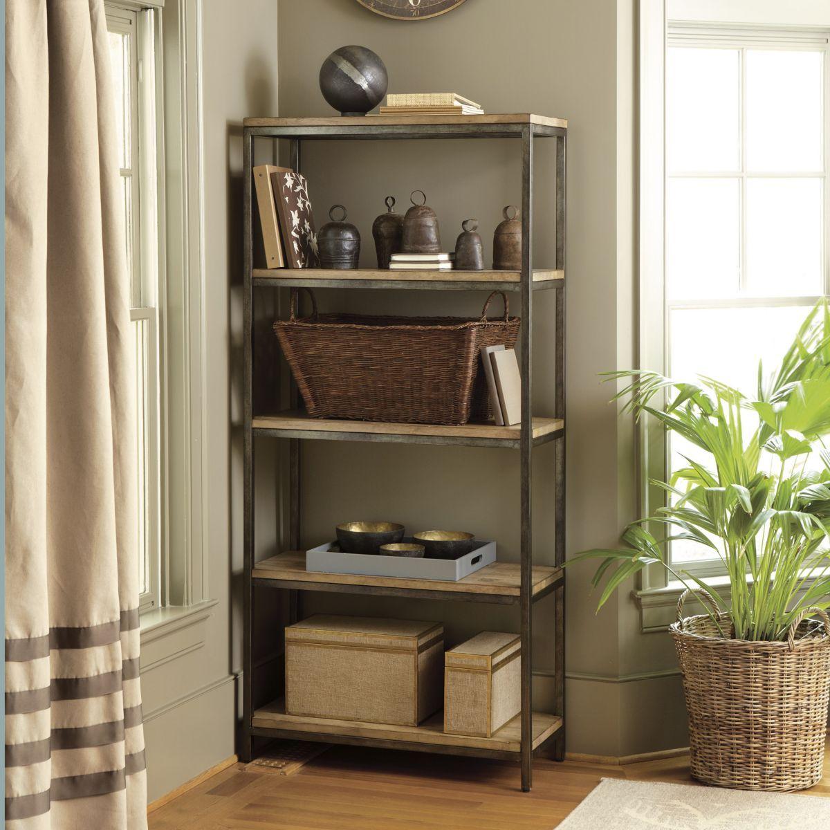 Durham tall bookcase ballard design home pinterest durham
