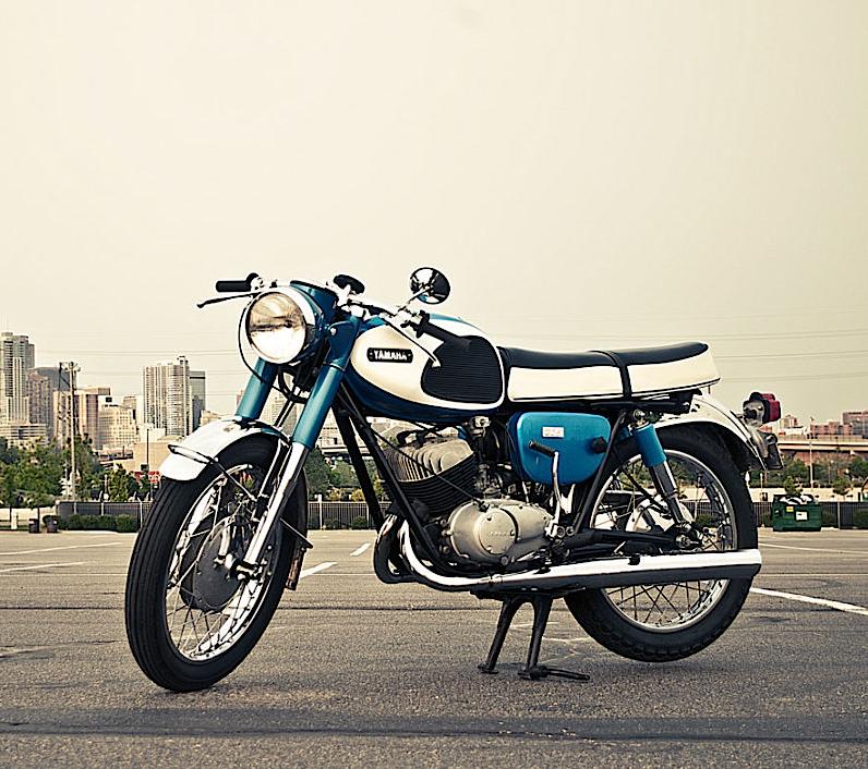 1965 Yamaha YM-1 | Bikes | Yamaha motorcycles, Yamaha bikes