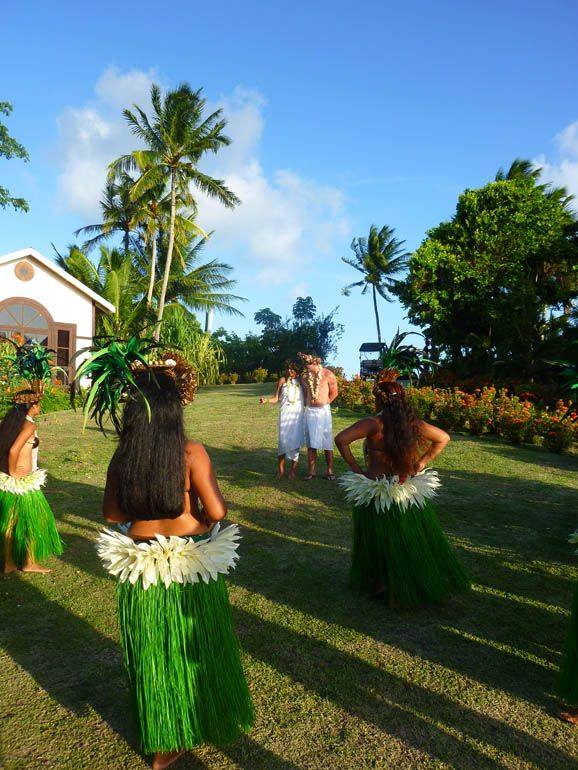 Tahitian Wedding At Hilton Bora Nui Resort Spa French Polynesia