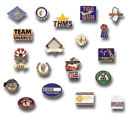 Image Detail For  Custom Made Lapel Pins Your Design Or Logo, Enamel,  Printed