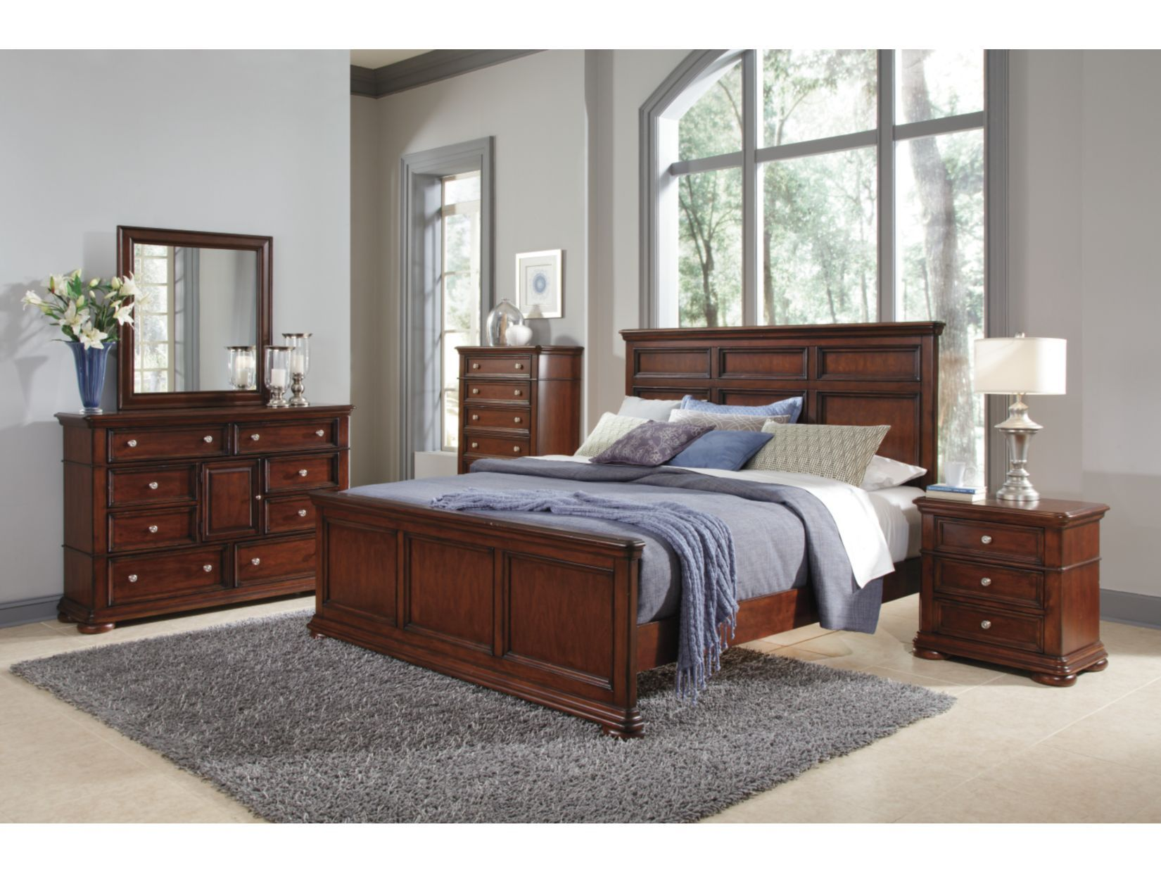tanglewood 7pc bedroom package  american signature