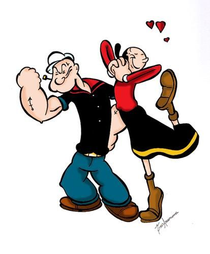 Popeye y olivia estapmpados pinterest cartoon looney tunes popeye y olivia altavistaventures Choice Image