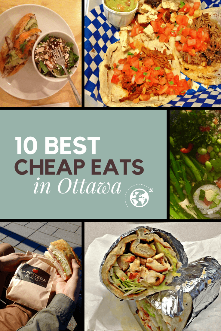 10 Best Cheap Eats in Ottawa   Canada trip, Travel bugs and Road trips