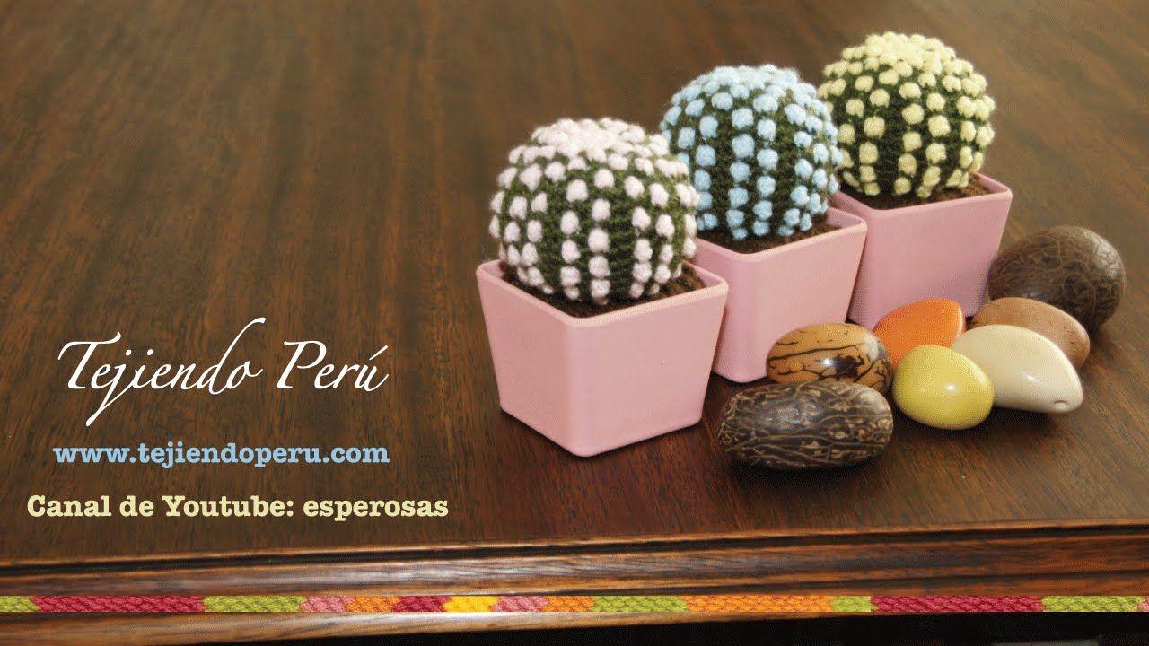 Tejiendo Peru Tutorial Amigurumi : Cactus fantasía amigurumi tejidos a crochet esperanza rosas