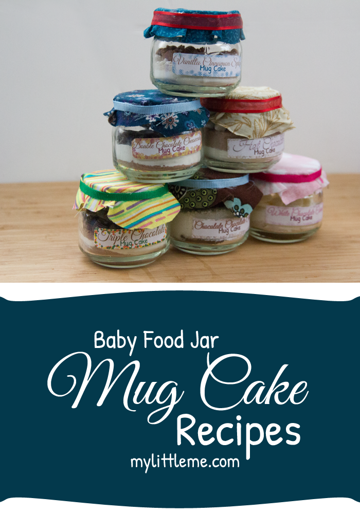 Baby Food Jar Mug Cake Recipes And Gift Basket | Recette ...