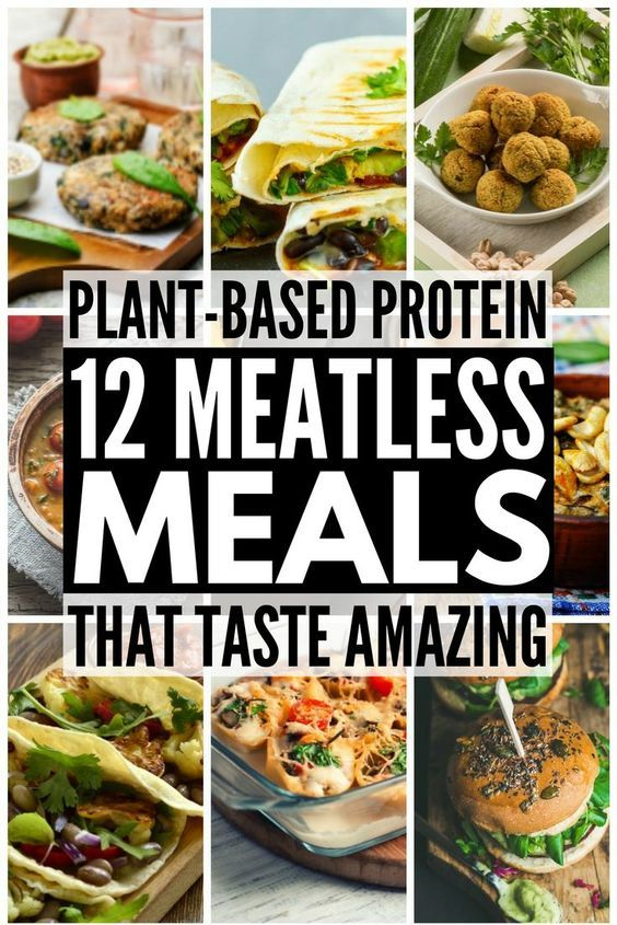 Plant Based Proteins: 12 Meatless Recipes That Are Actually Filling images