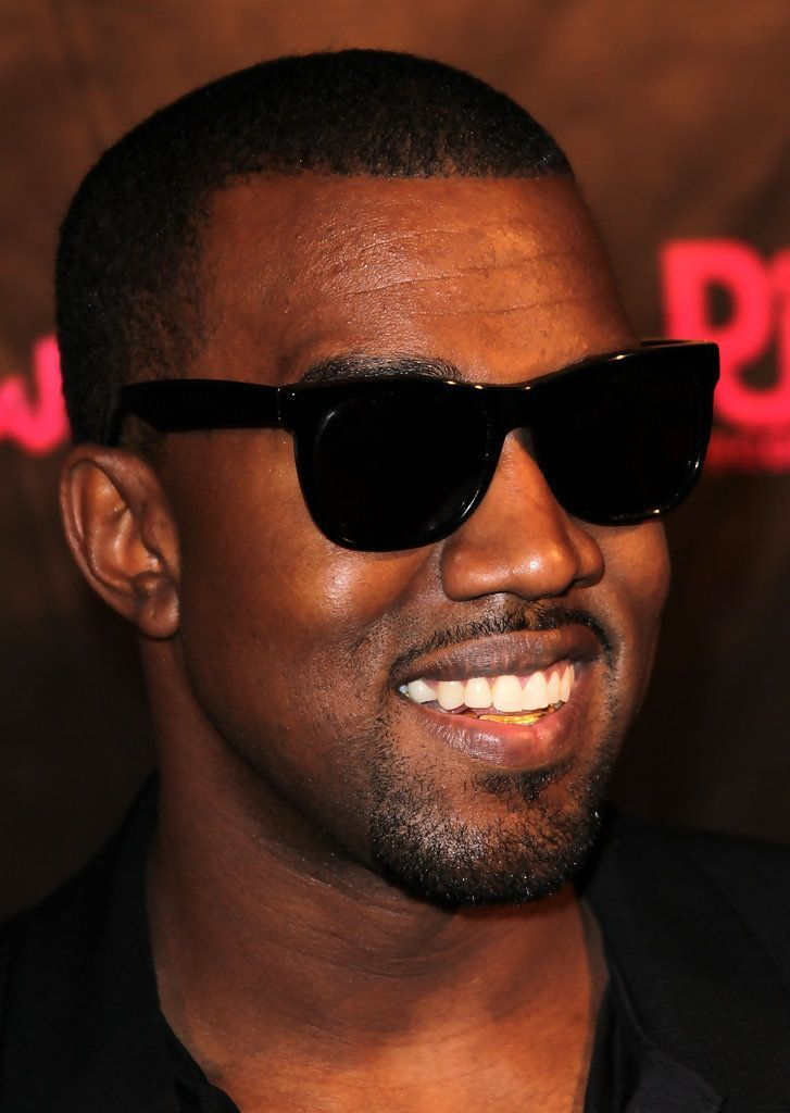 d845a9f125a Spotted  Kanye West wearing timeless black wayfarer. Check out his  signature styles here. Pic