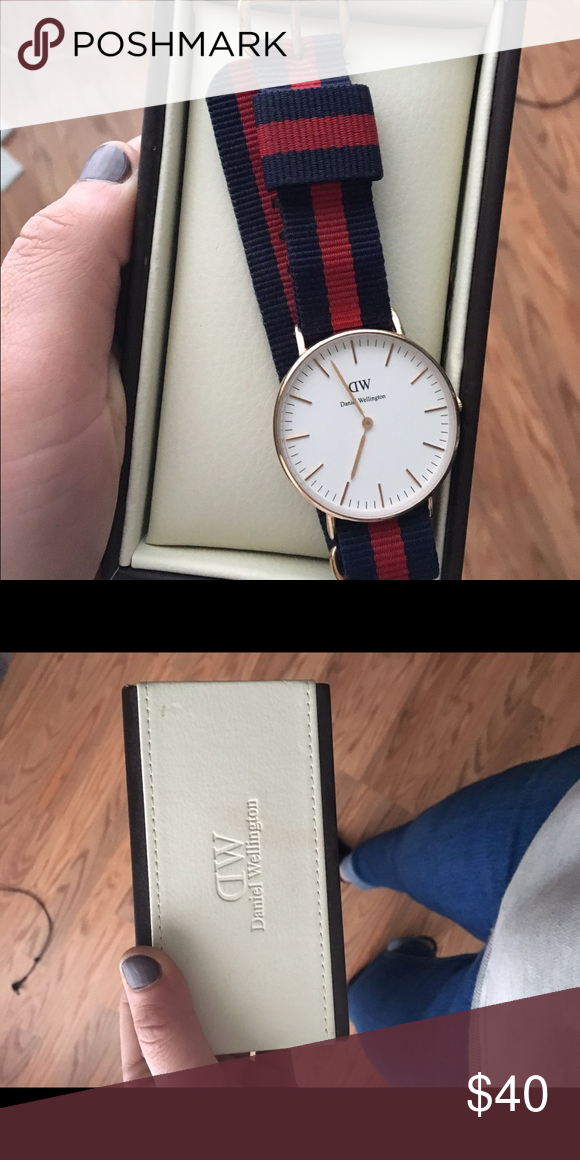 ae1ce0346abb Daniel Wellington Watch Women s NATO Classic Oxford. Daniel Wellington watch.  Authentic. Comes with box. Rose gold. 36mm Band is interchangeable.