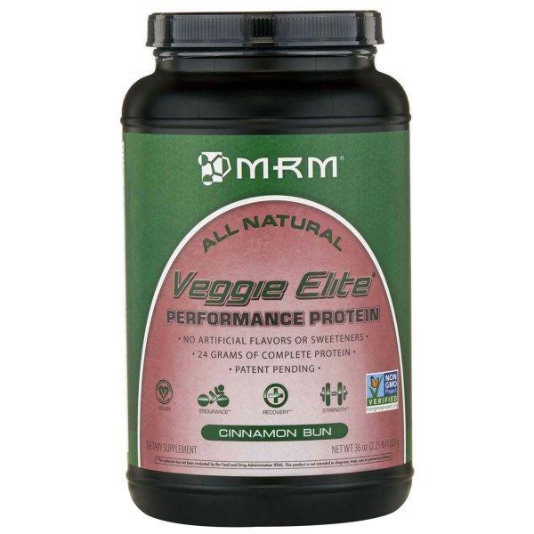 Mrm Veggie Elite Performance Protein Cinnamon Bun 36 Oz 1 020 G Protein Cinnamon Buns Complete Protein