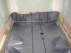 Installing Shower Pan