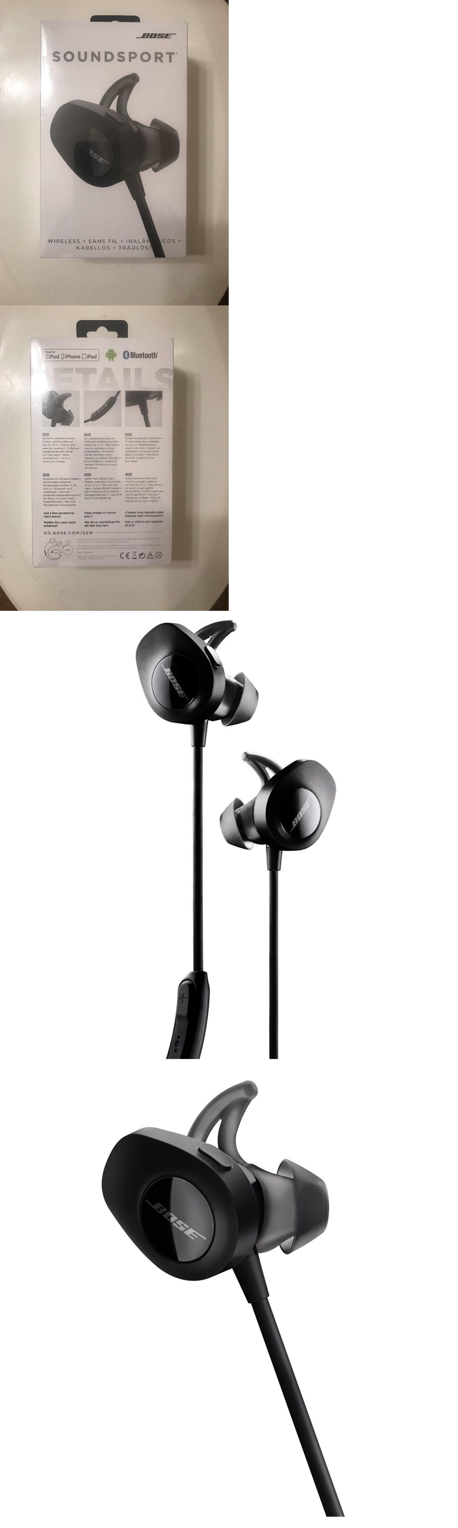 bose headphones sport box. headsets and earpieces: brand new in box bose sound sport wireless headphones, black free headphones