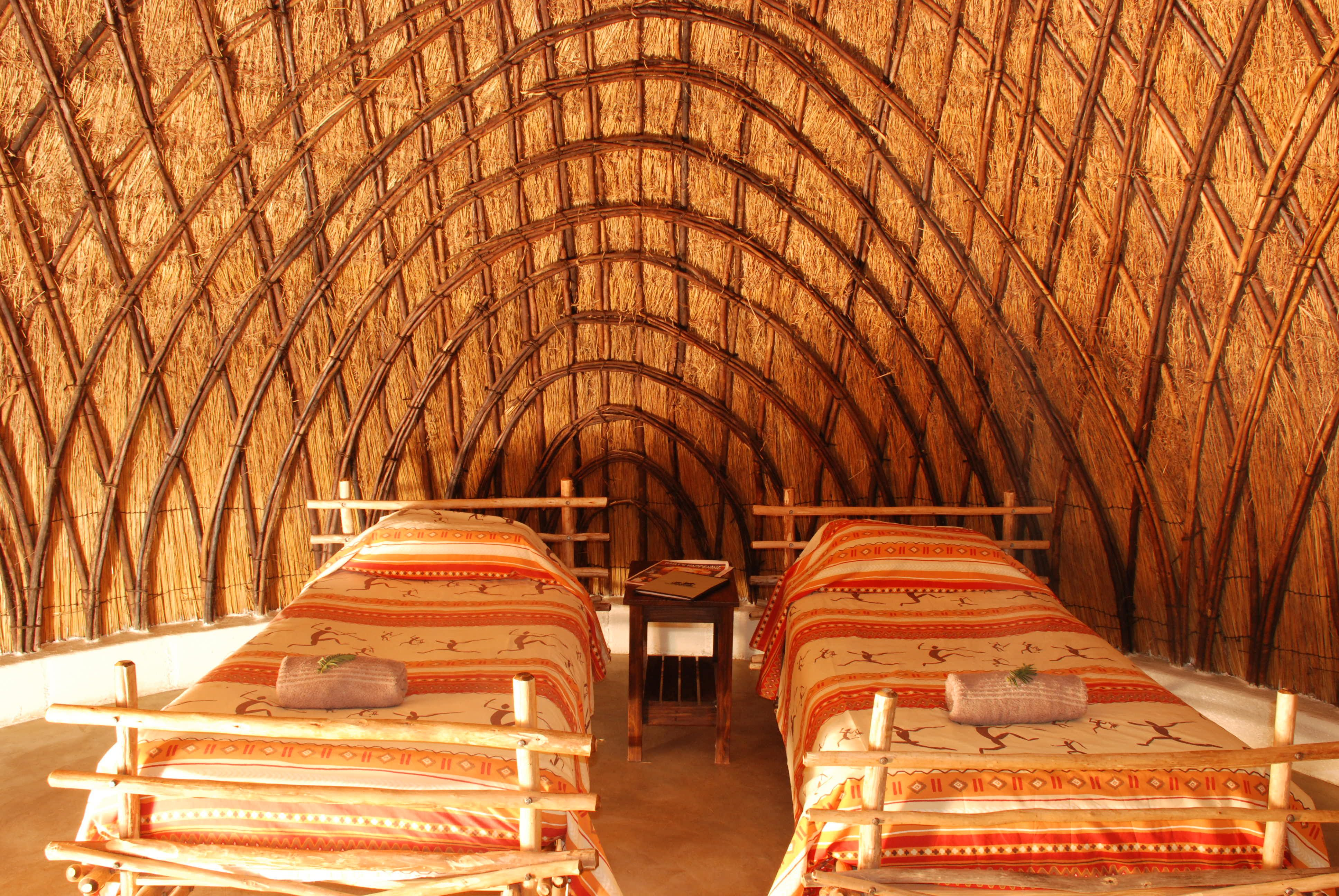Swaziland inside of a beehive hut mlbh4 African