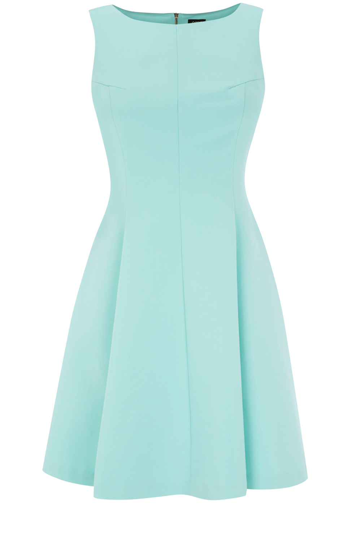 Oasis Shop   Pale Green Zip Detail Dress   Womens Fashion Clothing ...