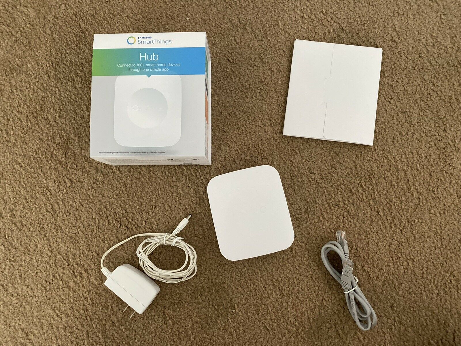 Samsung Smartthings Hub Used Box Smart Home Automation
