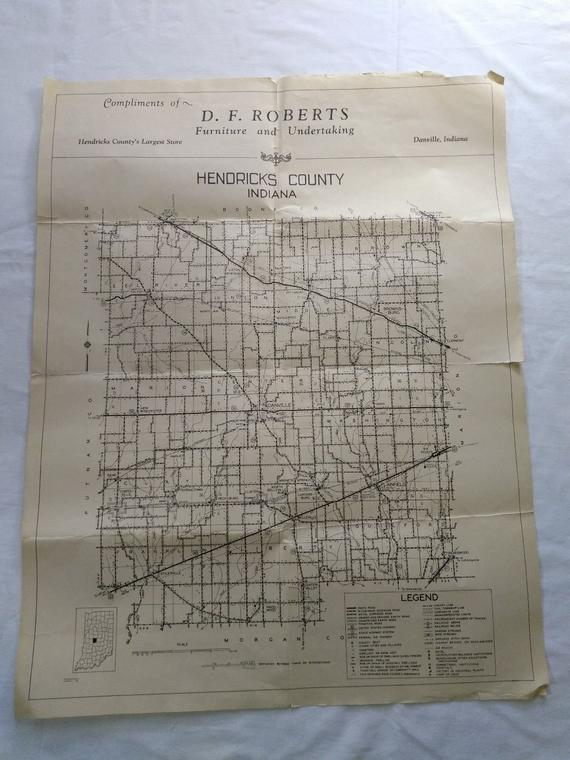 Danville Indiana Map Hendricks County Danville Indiana Map, D F Roberts Furniture