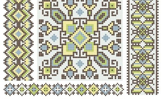 باترونات تطريز مخدات أيتامين Vintage Cross Stitches Russian Cross Stitch Cross Stitch Pillow