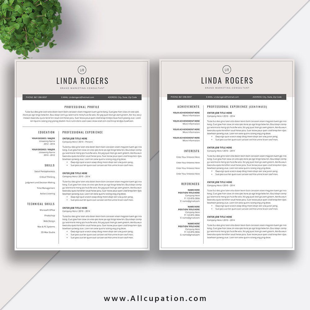 Can My Resume Be 2 Pages New Page Resume format for