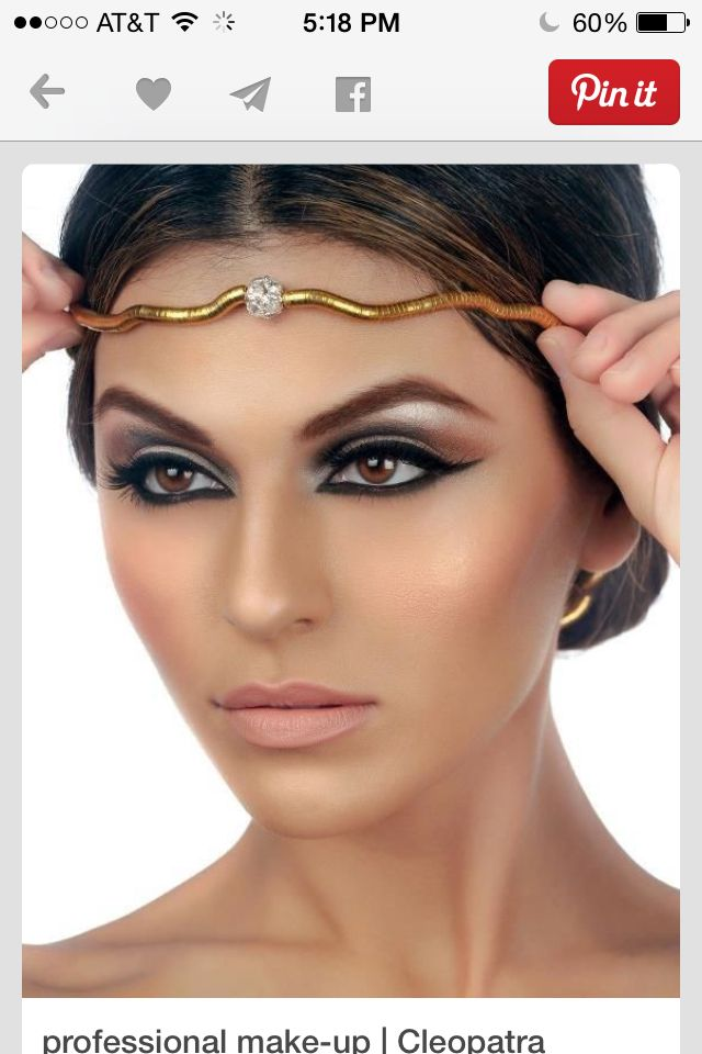 Halloween makeup for Cleopatra coustume  sc 1 st  Pinterest & Halloween makeup for Cleopatra coustume   Halloween coustumes ...