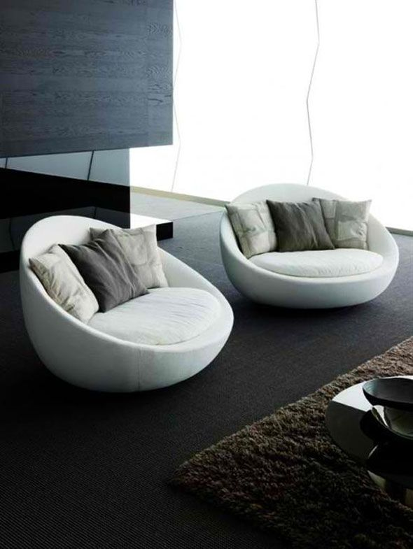 modern armchairs collection   Fusion Office Decoration Ideas ...