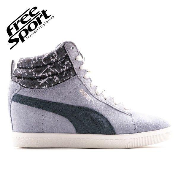scarpe donna sport puma con zeppa