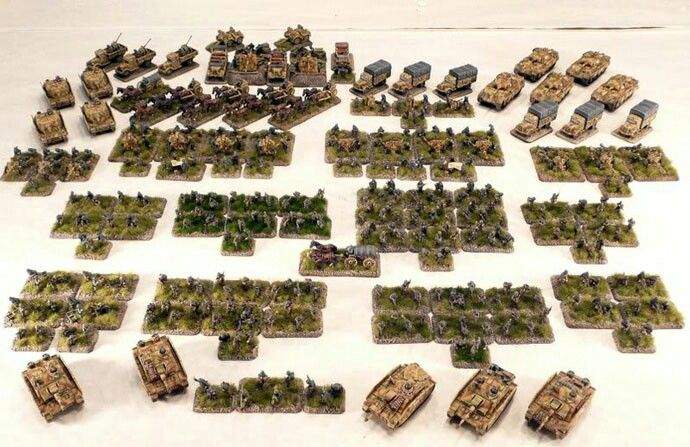 German army flames of war | Flames of War | Military diorama, War