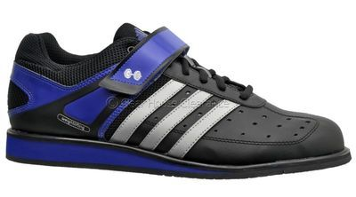 hot sales 63c47 99836 New Adidas Powerlift Trainer Mens Weightlifting Shoes - Black  Blue   Silver