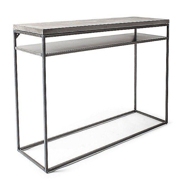 Lyon Beton Perspective Console With Shelf D 09160 Pe 002 Concrete Furniture Lyon Beton Shelves