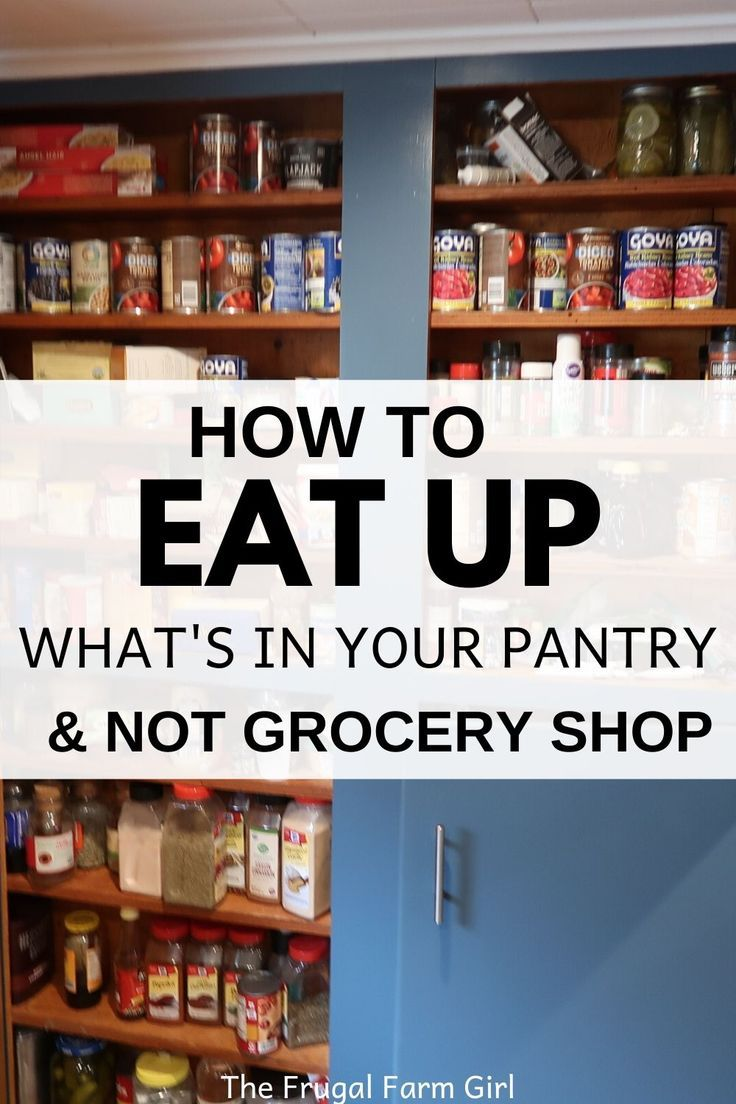 """When's the last time you went shopping because your fridge was empty and your cupboards bare? Sure you may have said the other day, """"My boys eat everything."""" I'm sure they do.   #pantry #survive #frugal #savemoney #groceries #tips #ideas #momlife #grocerychallenge"""