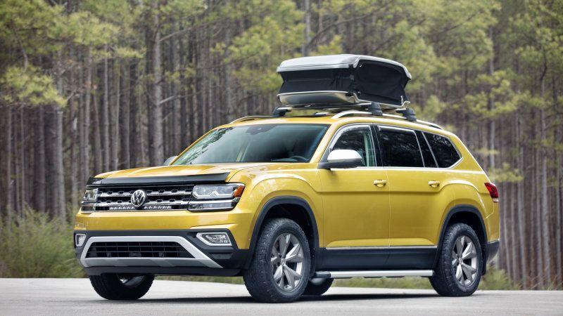The Volkswagen Atlas Weekend Edition Concept is aimed at weekend warriors NPR listeners