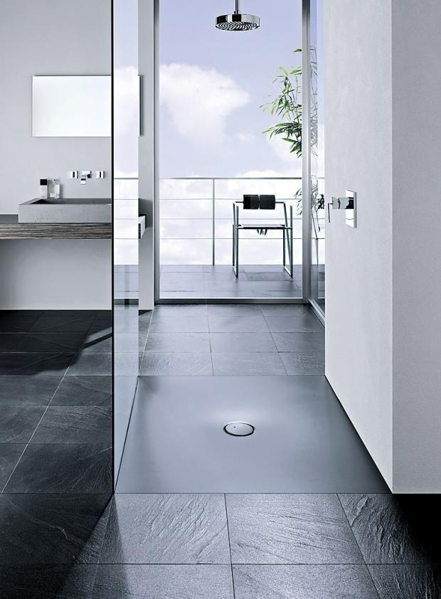 Duschtasse mit geringer Einbauhöhe Bild 9 Dusche