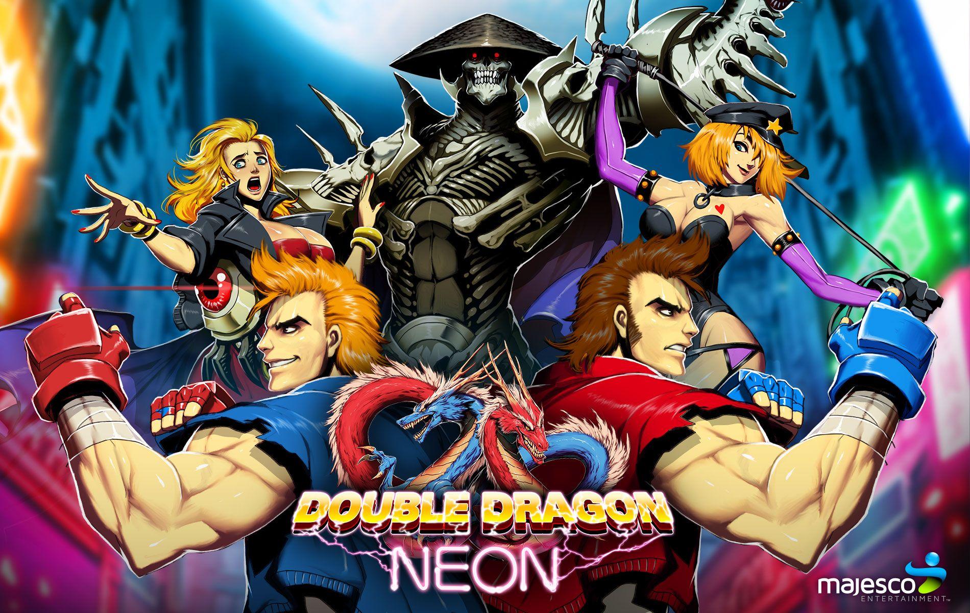 Double Dragon Neon Review Double Dragon Neon Neon Jungle