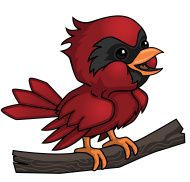 Cartoon Baby Cardinal Cartoon Birds Red Bird Tattoos Cartoon