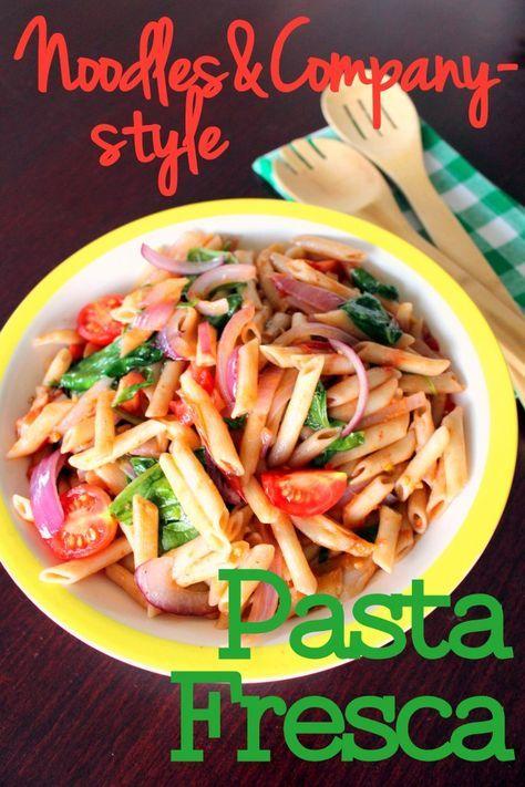 pasta fresca noodles  co style  recipe  pasta fresca