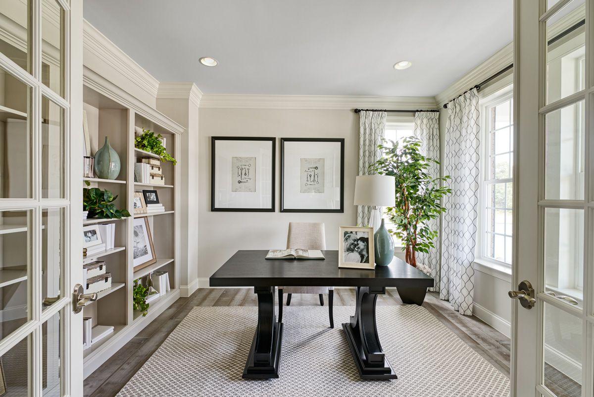 Home Office Hagerstown Model Home Hemingway Floor Plan In 2020 Home Home Office Design Model Homes