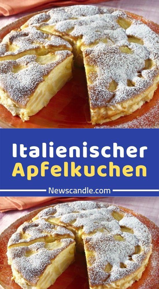 Italienischer Apfelkuchen  #fondue