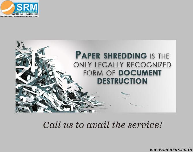 Do you destroy your expired records? Go for document