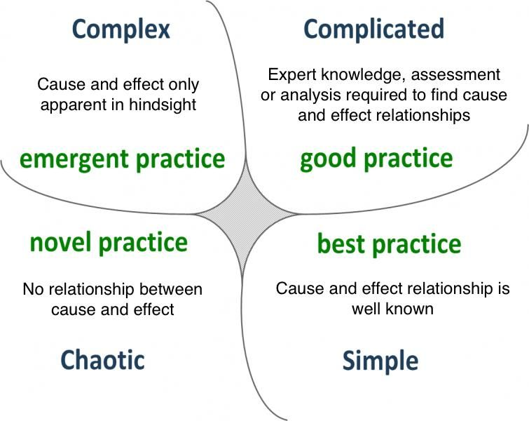 Image result for cynefin framework