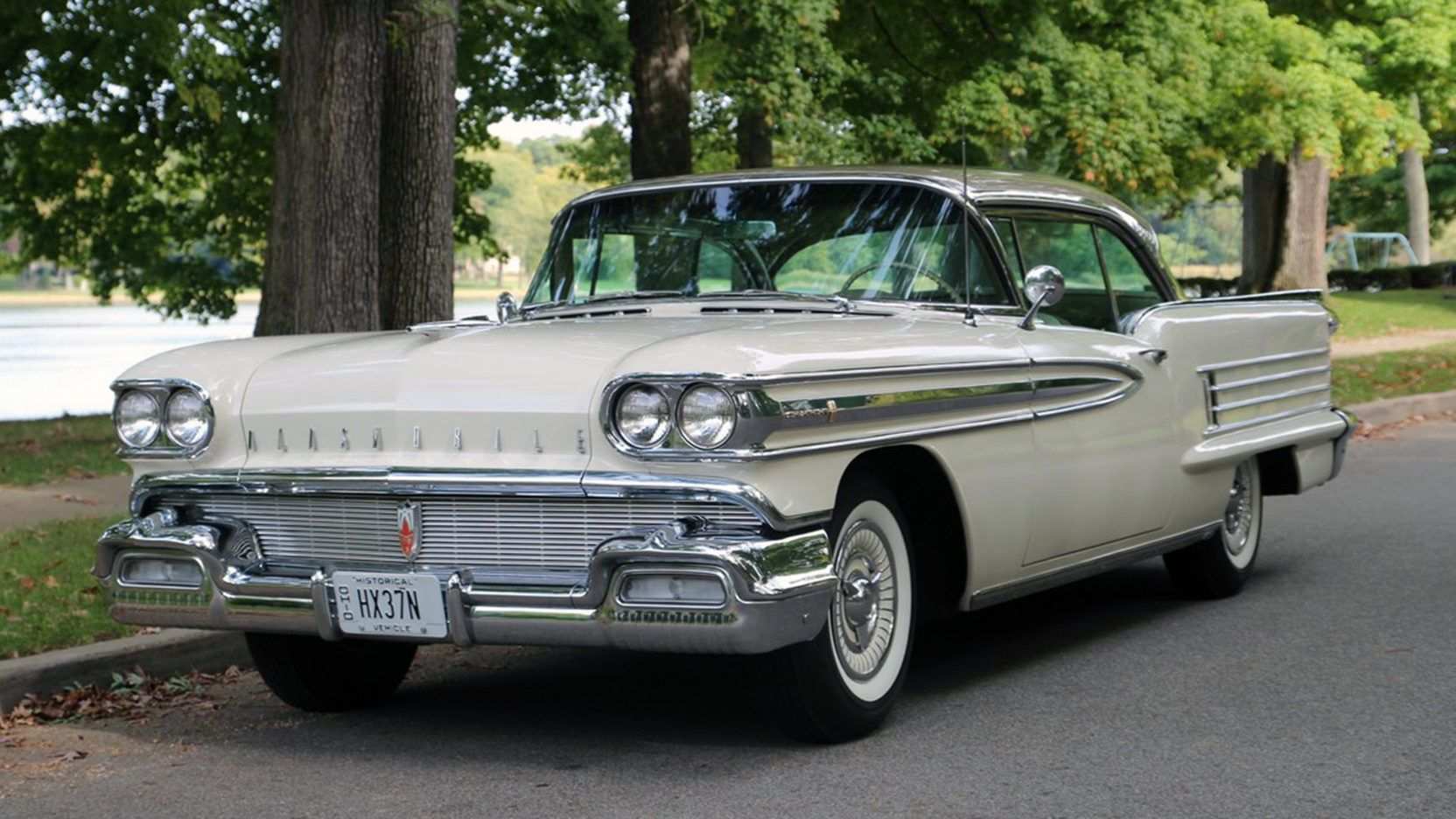 1958 Oldsmobile Super 88 Holiday Coupe - 1 - Print Image | Classic