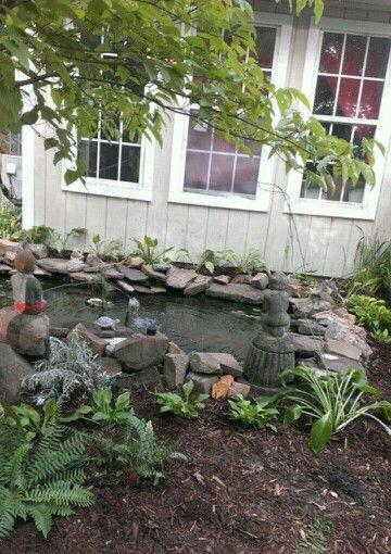 My Goldfish Pond,  Ohatchee, Alabama