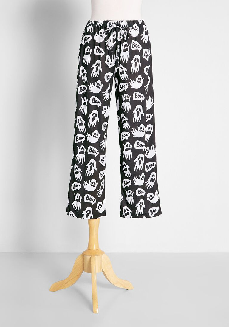 Ghosty Boo Pajama Pants in XS - Quirky