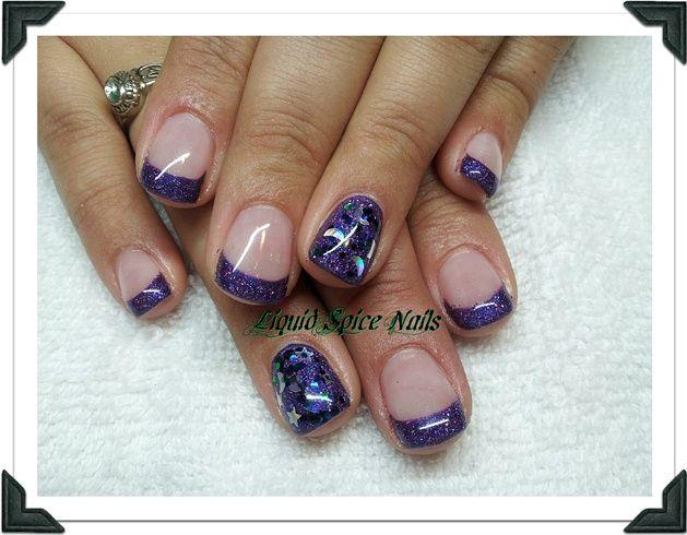 Silky Plum by liquidspice - Nail Art Gallery nailartgallery.nailsmag ...
