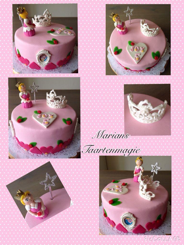 Prinsessen taart voor Joy